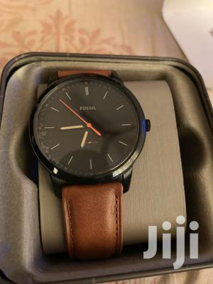 Fossil Leather Strap