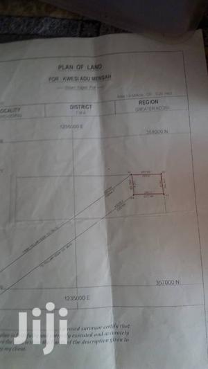 Registered Two Plots of Land on the Main Road at Community 18 Spintex