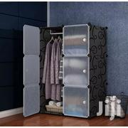 6 Cubes Wardrobe Black | Furniture for sale in Greater Accra, Tesano