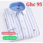 Men'S Long Sleeves Shirt 100% Cotton | Clothing for sale in Greater Accra, Accra Metropolitan