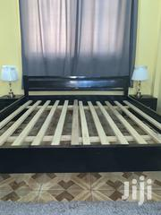Queen Size Bed Frame and Side Cabinet | Furniture for sale in Greater Accra, Accra Metropolitan