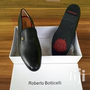 Roberto Botticelli Black Leather Shoe | Shoes for sale in Greater Accra, Ashaiman Municipal
