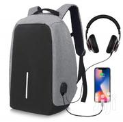 Waterproof Anti Theft Backpack With USB and Headphone Port | Bags for sale in Greater Accra, Kwashieman