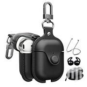 Apple Airpods 1 2 Genuine Leather Cases Black | Accessories & Supplies for Electronics for sale in Greater Accra, Accra Metropolitan