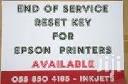 Epson Printer End of Service Reset Key | Computer Accessories  for sale in Greater Accra, Odorkor