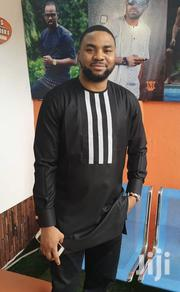 Black With White Strip African Wear for Men | Clothing for sale in Greater Accra, Tema Metropolitan