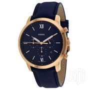 Fossil Neutra Chronograph Navy Blue Leather Watch | Watches for sale in Greater Accra, North Kaneshie