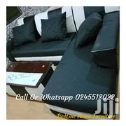 L Shape Leather Sofa❤ 🖤 | Furniture for sale in Greater Accra, South Kaneshie