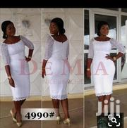 White Lace Dress   Clothing for sale in Greater Accra, Accra Metropolitan