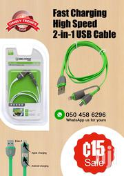 2 in 1 Phone Cable | Accessories for Mobile Phones & Tablets for sale in Greater Accra, East Legon