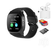 T8 Smart Watch + I7s-Tws Twin Wireless Bluetooth Headset | Smart Watches & Trackers for sale in Greater Accra, Tema Metropolitan