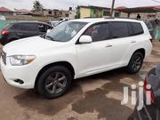 Toyota Highlander 2010 Sport White | Cars for sale in Greater Accra, Abelemkpe