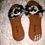 Black And White Ladies Slippers   Shoes for sale in Greater Accra, Adenta Municipal