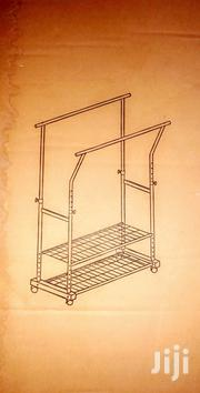 Metal Double Pole And Double Rack For Shoes And Clothes.   Furniture for sale in Greater Accra, Achimota