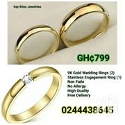 9K Yellow Gold Ring Set | Watches for sale in Central Region, Awutu-Senya