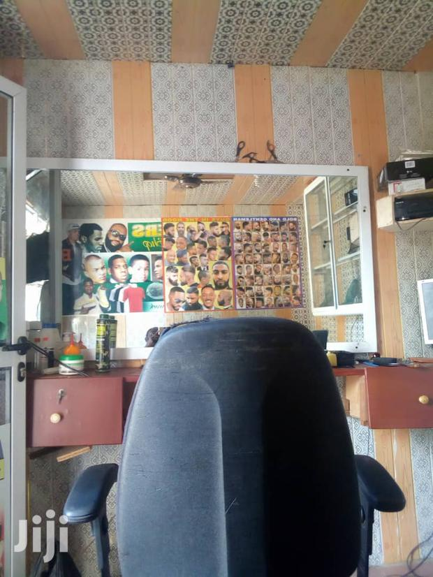 Archive: Fully Equipped Barbering Shop For Sale