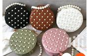 Cute Designer Natural Woven Pompom Straw Bags for Women | Bags for sale in Greater Accra, Kwashieman