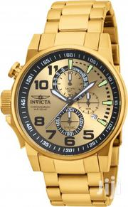 One Week Used Gold Invicta Right Watch I Force | Watches for sale in Greater Accra, Abelemkpe