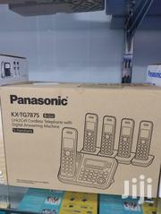 Panasonic Cordless Pabx With 5 Handset | Home Appliances for sale in Greater Accra, Dzorwulu