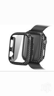 Carbon Fibre Protective Bumper Case For Apple Watch Series 4 5 | Smart Watches & Trackers for sale in Greater Accra, Ga South Municipal