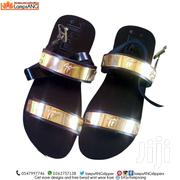 Men Sandals, Double Strap Gold | Shoes for sale in Ashanti, Kumasi Metropolitan