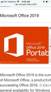 Microsoft Office 2019 For Macbook/Apple Laptops | Computer & IT Services for sale in Ashanti, Kumasi Metropolitan