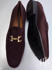 Ferragamo Salvatore Men's Suede Loafers-Coffee | Shoes for sale in Greater Accra, Ga West Municipal