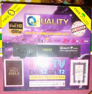 Quality Digital Combo Decoder-s2t2 | TV & DVD Equipment for sale in Greater Accra, Accra new Town