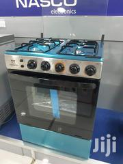 Brand New Nasco 4 Burner Stainless 60x60cm Oven Grill Gas Cooker | Kitchen Appliances for sale in Greater Accra, Kokomlemle