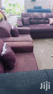 Full Set of Sofa Brown (Free Delivery ) | Furniture for sale in Greater Accra, Nungua East