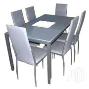 7PCS DINING SET TABLE + 6 CHAIRS SILVIA | Furniture for sale in Greater Accra, Adenta Municipal