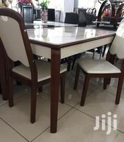 Marble Dining Set With 6 Chairs | Furniture for sale in Greater Accra, Adabraka