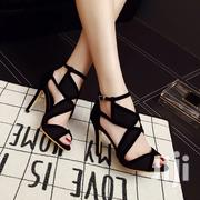 Roman Straps Open Toes High Heels   Shoes for sale in Greater Accra, Tema Metropolitan