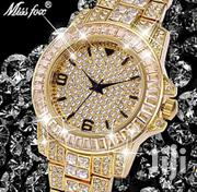 Missfox Diamond Hublo Unisex Quartz Rolex Watch | Watches for sale in Greater Accra, Adenta Municipal
