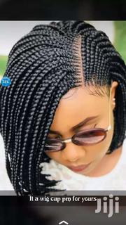 Braided Wig Caps With Frontal N Closure | Hair Beauty for sale in Greater Accra, Odorkor