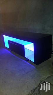 New Led Light Tv Stand   Furniture for sale in Greater Accra, Dansoman