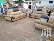 Quality Leather Sofa At E Cool Prize | Furniture for sale in Greater Accra, Agbogbloshie