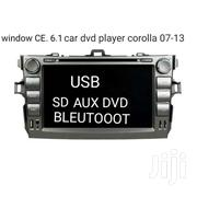 Toyota Corolla 07-13 Radio DVD BT Window CE | Vehicle Parts & Accessories for sale in Eastern Region, Asuogyaman