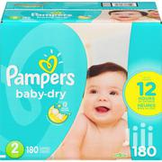 Pampers Baby-Dry Diapers Size 2, 180 Count | Baby & Child Care for sale in Ashanti, Kumasi Metropolitan