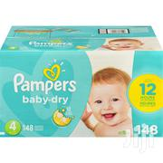 Pampers Baby-Dry Diapers Size 4, 148 Count | Baby & Child Care for sale in Greater Accra, Accra Metropolitan