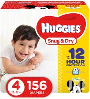 Huggies Snug and Dry Diapers, Size 4, 156 Count | Baby & Child Care for sale in Greater Accra, Accra Metropolitan