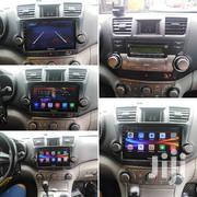 Toyota Highlander Big Lcd Android Radio | Vehicle Parts & Accessories for sale in Greater Accra, South Labadi