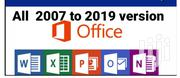 Microsoft Office 2007 To 2019 | CDs & DVDs for sale in Greater Accra, Nungua East