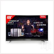 "TCL 49"" FULL HD DVB T2 Curved Netflix Smart TV 