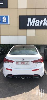 Hyundai Elantra 2012 GLS Automatic White | Cars for sale in Greater Accra, Dansoman
