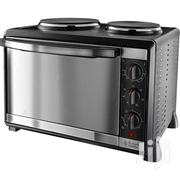 Russell Hobbs 30L  2 Hotplate Burners Mini Oven In Black | Makeup for sale in Greater Accra, Adenta Municipal