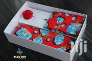 BLUE CITY Red Diamond Designed Flying Tie Set | Clothing Accessories for sale in Greater Accra, Odorkor
