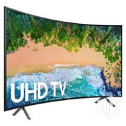 SAMSUNG 65-inch UHD 4k Smart LED Curved TV - UA65NU7300 | TV & DVD Equipment for sale in Greater Accra, Roman Ridge