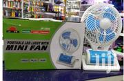 Portable Rechargeable Fan & LED Light | Home Appliances for sale in Ashanti, Kumasi Metropolitan