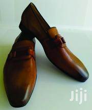 Square Tie Brown Leather Shoe | Shoes for sale in Greater Accra, Ashaiman Municipal